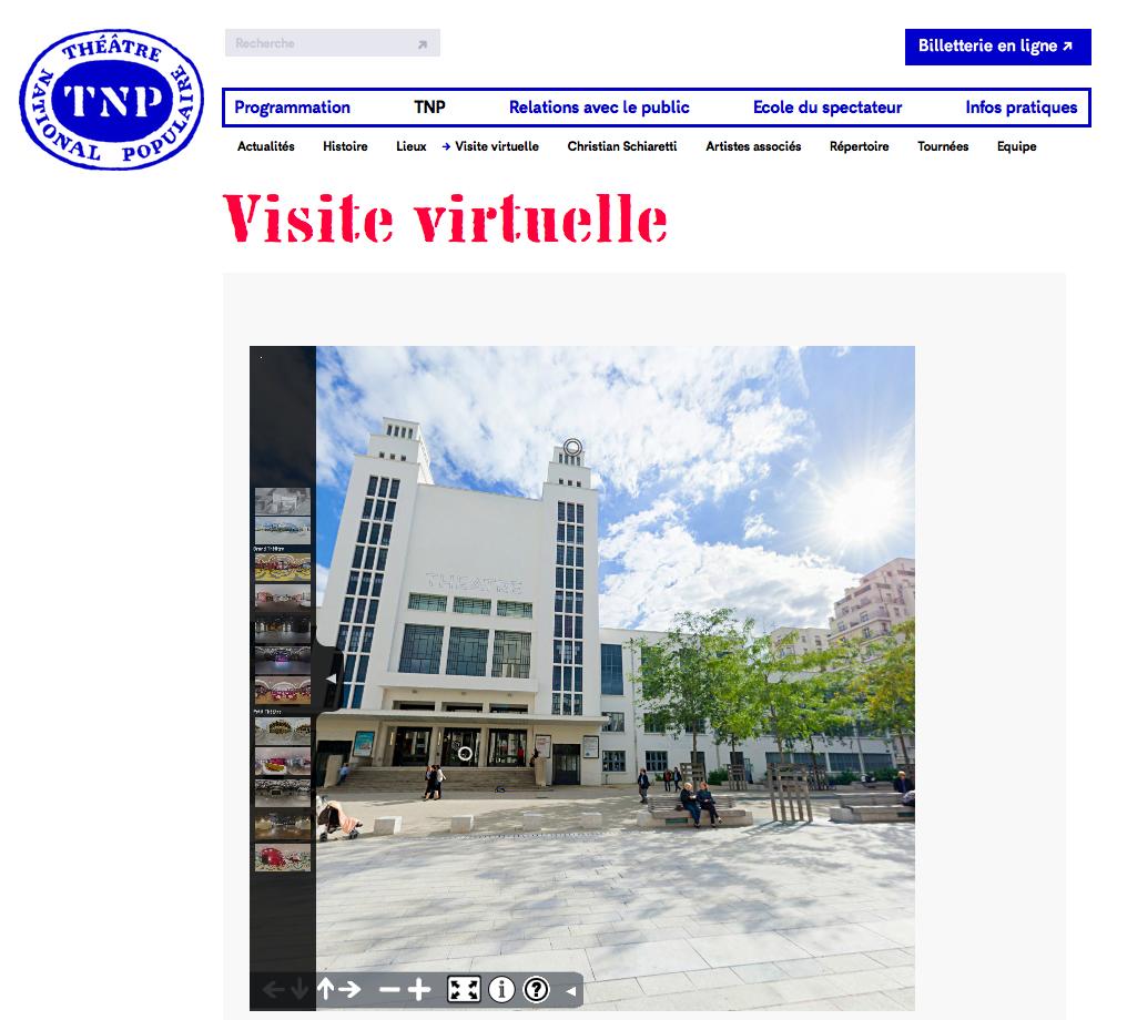 Visite Virtuelle du TNP